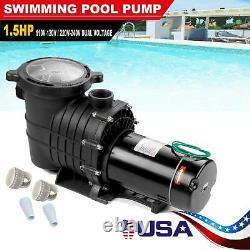 1.5/1HP In/Above Ground Swimming Pool Pump Motor withStrainer Generic Hayward