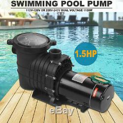 1.5 Hp Self Priming Swimming Pool Pump Dual voltage In Ground &Above Ground AAA