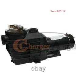 1.5HP 115-230v 2 thread NPT IN GROUND Swimming POOL PUMP MOTOR with Strainer