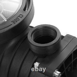 110-240v 2HP Inground Swimming Pool pump motor Strainer UL Certified USA STOCK