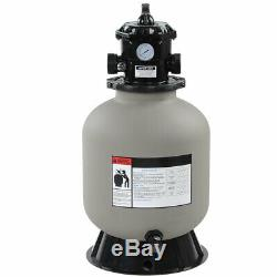 16 Swimming Pool Sand Filter 1800 GPH Fit Water Pool Pump Above In-ground