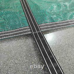 16X32 FT Safety Cover Rectangle Winter In-Ground Swimming Pool Mesh Cover