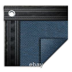 18' x 36' Rectangle In-Ground Swimming Pool Mesh Winter Cover 15 Year Blue