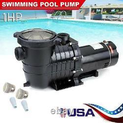 1HP Hayward Generic In-Ground Swimming Pools Pumps Motors Strainer Replaces