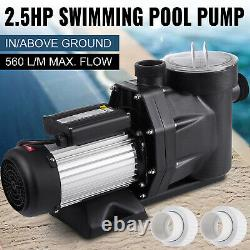 2.5HP In-Ground Swimming Pool Pump Hayward Spa Motor Strainer Above Ground