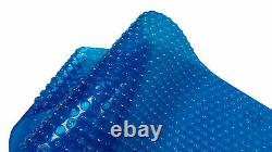 20' x 40' Rectangle Blue In-Ground Swimming Pool Solar Cover Blanket 1600 Series