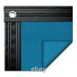 20' x 40' Rectangle In-Ground Swimming Pool Mesh Winter Cover 10 Year Blue