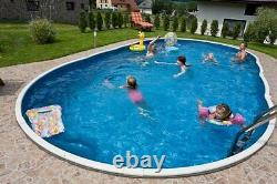 24x12ft oval Swimming pool kit above ground or in ground