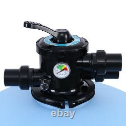 27 Swimming Pool Sand Filter System Valve Inground Pond with Cylinder Head