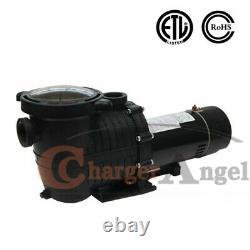 2HP Inground Swimming Pool pump motor Strainer Hayward Replacement 115-230v US