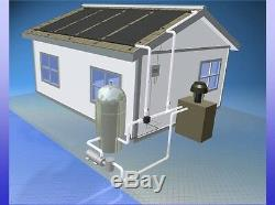 4 4'x12' Inground Pool Solar Panels WithRoof Kits 10 yr (8 panels x 2' wide x 12')