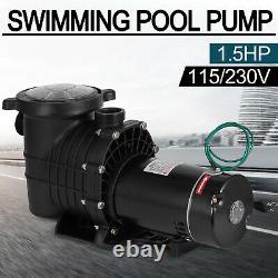 Above/In Ground 1.5HP Swimming Pool Pump 115/230V Hayward Hi-Flo Strainer Basket