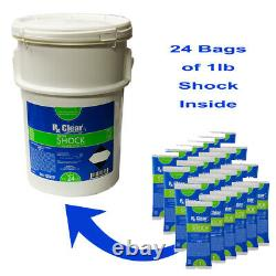 Above and In-Ground Swimming Pool Super Shock 24 LBS in a Bucket