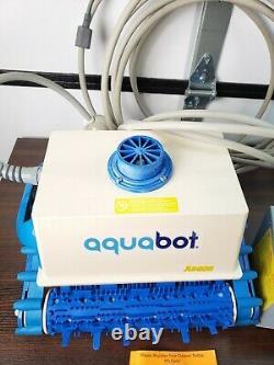 Aquabot Classic Jr ABJR InGround Auto Robotic Swimming Pool Cleaner (Open Box)