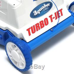 Aquabot Turb T-Jet In-Ground Swimming Pool Robotic Automatic Cleaner ABTTJET