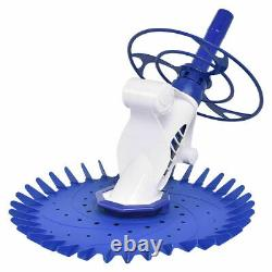 Automatic Pool Cleaner Swimming Pool Vacuum Inground Above Ground With10 Hose