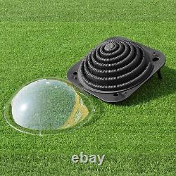 Black Outdoor Solar Dome Inground & Above Ground Swimming Pool Water Heater SALE