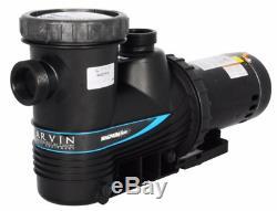 Carvin Magnum Force 1 HP InGround Single Speed Swimming Pool Pump 115/230V