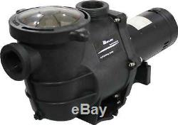 Deluxe Energy Efficient 2 Speed Pump for In-Ground Swimming Pool 1.5 HP-230V
