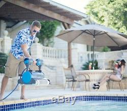 Dolphin Premier Pool Robot + Caddy + Oversized Debris Bag + Remote- Open Box Buy