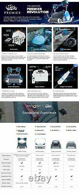 Dolphin Premier Robotic Pool Cleaner with Multi-Media, SmartNav, & 3/yr warranty
