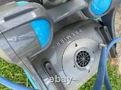 Dolphin Premier Robotic Pool Cleaner with powerful dual scrubbing brushes. Used