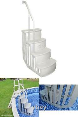 Entry Smart Step For Above Ground Swimming Pool