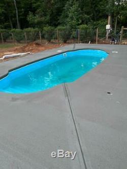 Fiberglass Inground pool New Italy 5 Plus (7.4 x 16.4 x 4.6 deep)