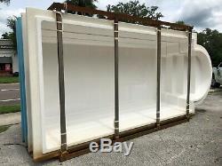 Fiberglass Inground pool shell Classic 10 (7.4 x 16.4 x 3.10 deep)
