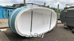 Fiberglass Inground pool shell New Italy 5 (7.3 x 16.4 x 3.10 deep)