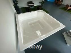 Fiberglass Semi-Inground Spa Square 2.1 installation kit (6.9 x 6.9 x 2.6)