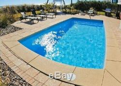 Fiberglass in-ground pool 13 X27 Sale til 4-17 Free delivery & preplumb