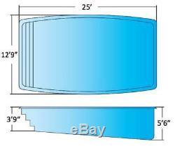 FiberglassPool Islander model