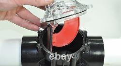 FlowVis Flow Meter 1-1.5 FV-C For Swimming Pool Variable Speed Pump