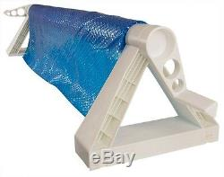 GLI Cyclone In-Ground Swimming Pool Solar Blanket Cover Reel Up To 12' Wide Pool