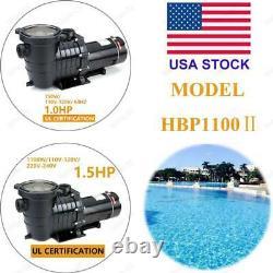 Hayward 1/1.5HP In-Ground Swimming Pool Pump Motor Strainer Generic Replacemen