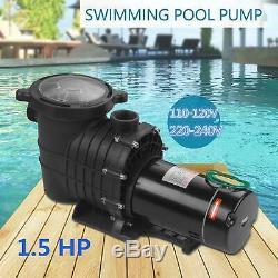Hayward 1.5HP In/Above Ground Swimming Pool Pump Motor Strainer Generic US