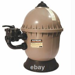 Hayward S200 Series Sand Filter with Side Mount Valve for In-Ground Swimming Pools