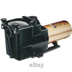 Hayward W3SP2615X20 Super Pump Swimming Pool Pump, 2 HP 115/230V Single Speed