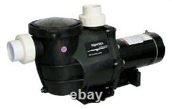 High Performance Swimming Pool Pump In-Ground 0.75 HP with Union Fittings & CORD