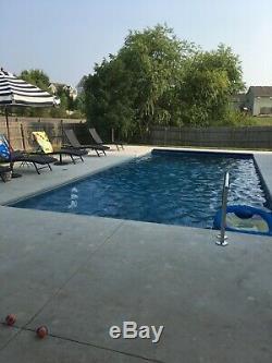 INGROUND fiberglass swimming pool 16x35x36-65