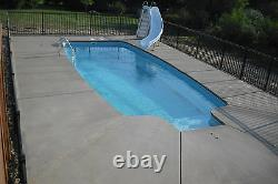 In-Ground Fiberglass Pool Leading Edge Huron Shores Do It Yourself Package
