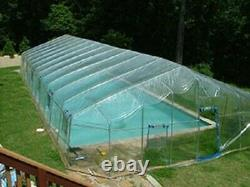 In-Ground Pool Cover Fabrico Sun Dome- 20 FT x 36 FT Dome- USA MADE