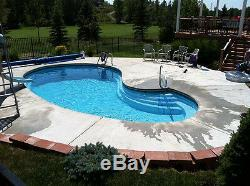 In-Ground Swimming Pool Leading Edge Crystal Bay Do It Yourself Package