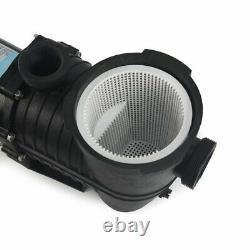 InGround 1 HP 115-230V Swimming Pool Pump High Performance Single Speed