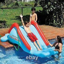 Inflatable Water Slide 40 x 98 x 68 Swimming Pool Commercial Inground Kid Fun