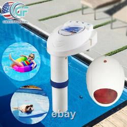 Inground Swimming Pool Alarm Wireless Remote System For Child Pets Safety Sensor