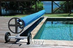 Kokido Kalu In-Ground Swimming Pool Solar Blanket Cover Reel (Various Sizes)