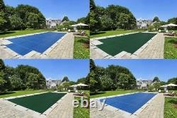 LinerWorld 20x40 MESH Winter SAFETY POOL COVER for 20'x40' INGROUND POOL