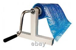 Low Profile Signature In-Ground Swimming Pool Solar Cover Reel Up To 18' with Tube